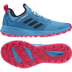 adidas TERREX Agravic Speed+ Chaussures Femme, shock cyan/core black/active pink
